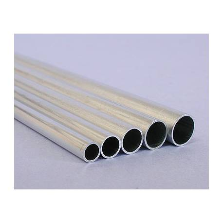Tube en aluminium 4mm x3 4 mm for Tube aluminium pour bache piscine