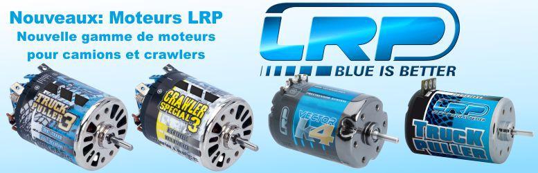 Nouvelle gamme de moteurs LRP