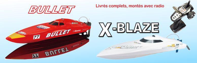Off-shore Bullet et X-Blaze
