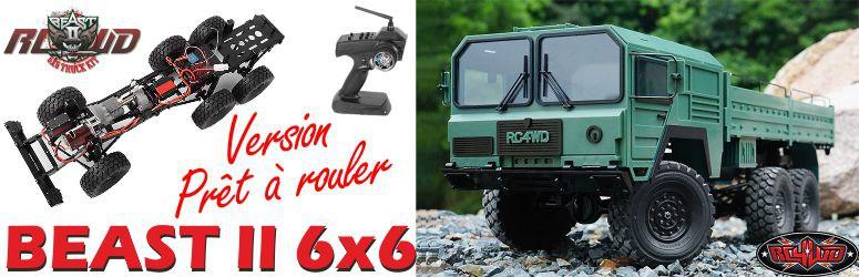 Camion RC prêt à rouler Best II 6x6