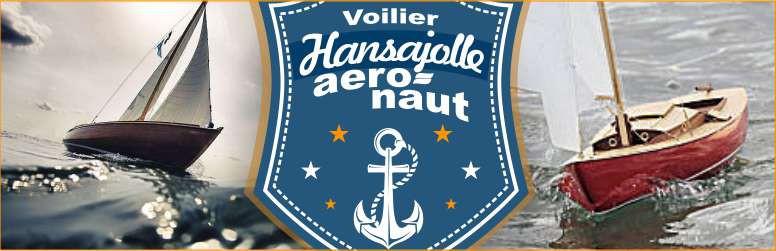 Voilier RC HansaJolle Aero-Naut