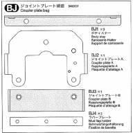 Sachet BJ de Knight Hauler (support de sellette et pièces métal)