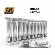 AK Peinture effet métal TRUE METAL BRASS