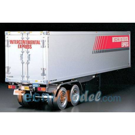 "Remorque caisson Tamiya ""Semi-trailer"" ref 56302"