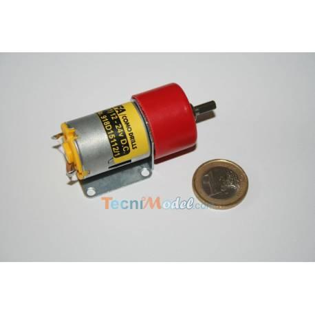 Moto-réducteur 280 500:1 arbre de 4mm