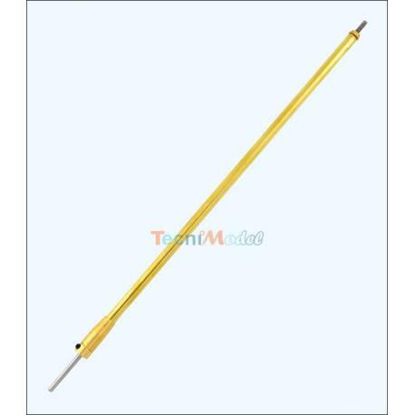 Arbre d 39 h lice 3mm m3 270mm tube 6mm 228mm for Arbre factice