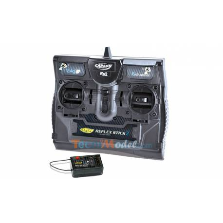 Radio Reflex Carson 6 voies 2.4Ghz