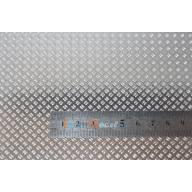 Tôle grain de riz aluminium 210 x 297 mm, ep. 0.5mm