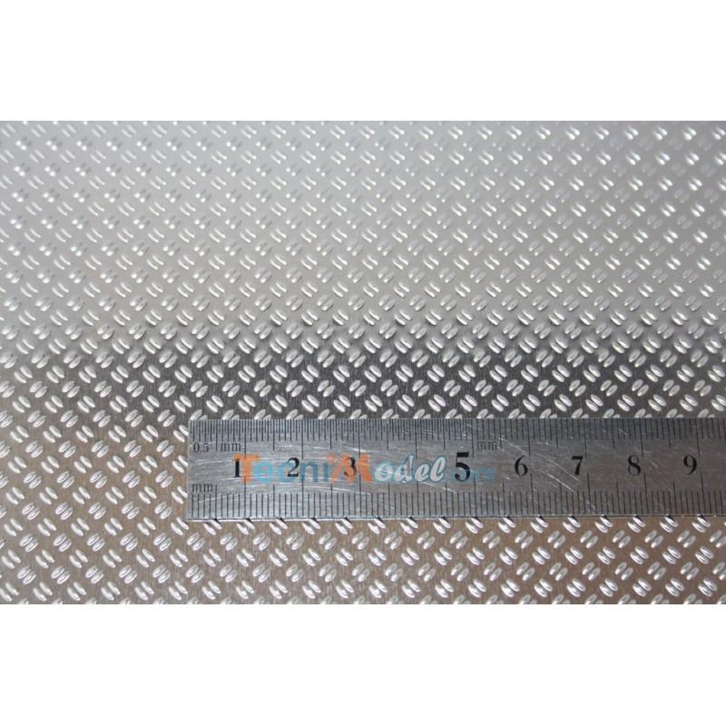 T le grain de riz aluminium 210 x 297 mm ep - Tole acier 5mm ...