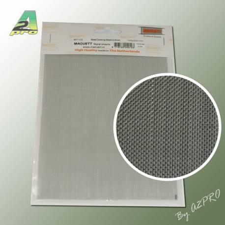 1 grille acier galvanis 200x140x0 5mm maille de 0 6mm - Plaque acier 5mm ...