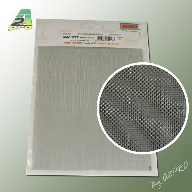 1 grille acier galvanis 200x140x0 5mm maille de 0 6mm. Black Bedroom Furniture Sets. Home Design Ideas
