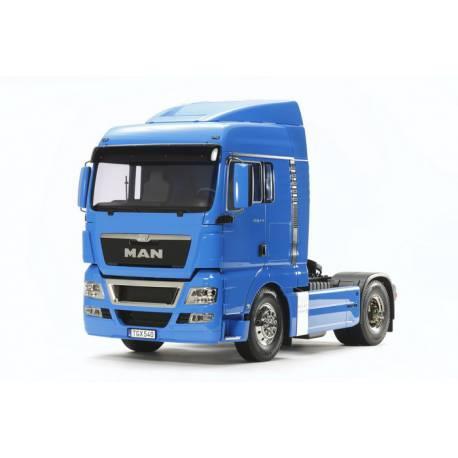 MAN TGX 18.540 4x2 1/14 Tamiya 56350 version peint en bleu de France