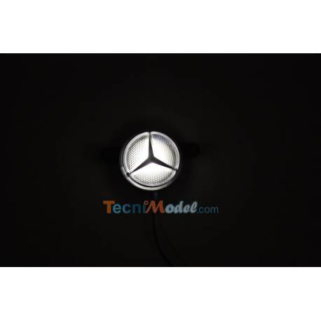 Logo Etoile MB éclairant (blanc)