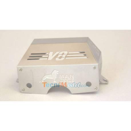 Capot moteur métal pour MAN Ref LESU ZK-K001-MAN