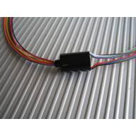 Connecteur rotatif 6 pôles