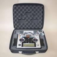 """Radio FRSKY Taranis X9E Config """"Tecnimodel"""" avec étriers métal, en mallette, sans récepteur"""