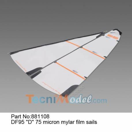 DF95 Voiles D mylar 75 microns Joysway 881108