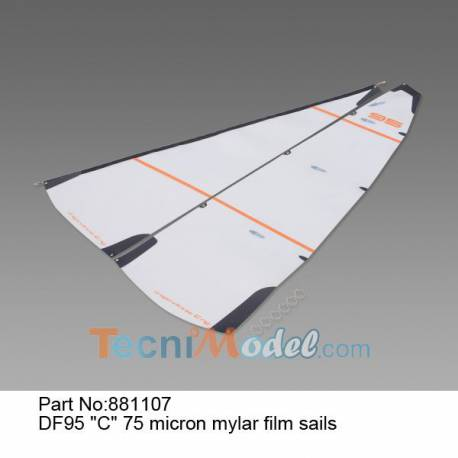 DF95 Voiles C mylar 75 microns