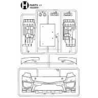 Grappe H Arocs 3363 (calandre)
