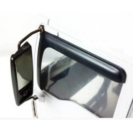2 Déflecteurs de vitres pour MAN Tamiya LESU LT-1005