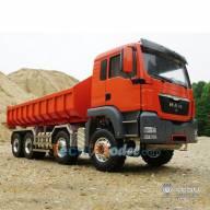 Camion RC MAN 8x8 Multibenne 1/14 LESU