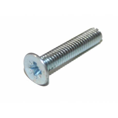 Vis TF POZI M2.5X10 INOX A2 DIN 965 (Par 50)