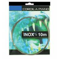 CORDE A PIANO INOX - Ø0.4mm - COURONNE 10 m