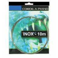 CORDE A PIANO INOX - Ø0.4mm - COURONNE 10 m