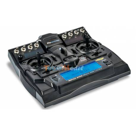 Radio Carson REFLEX STICK MULTI PRO LCD 14voies + récepteur 14voies