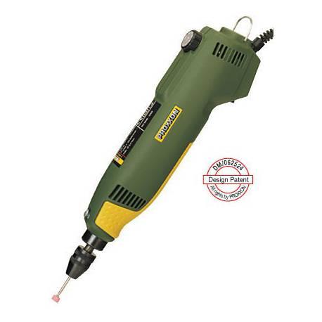 Perceuse Proxxon 100W max 20000 tr/min mandrin 0,3 à 3,2 mm coffret 40 outils Proxxon 28472