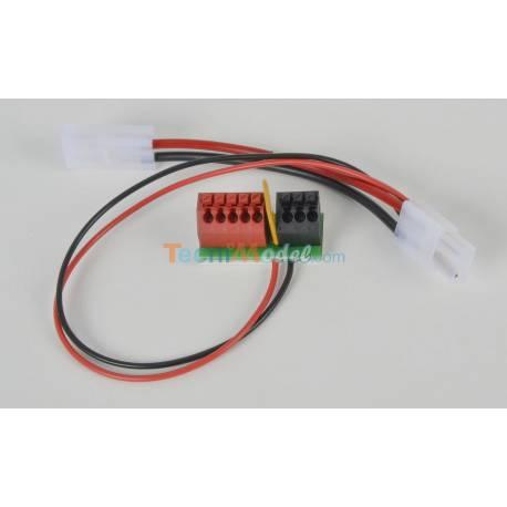 Bornier de connexion d'accessoires Carson 500503062
