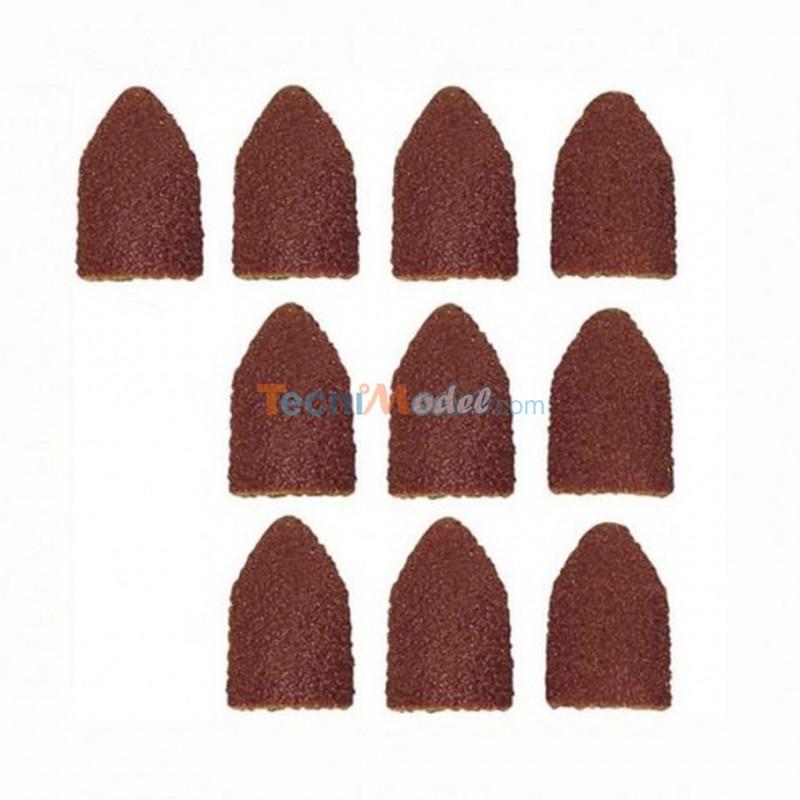 papier meri forme capuchon 9 grain 80 150 par 5 pi ces de chaque proxxon 28989. Black Bedroom Furniture Sets. Home Design Ideas