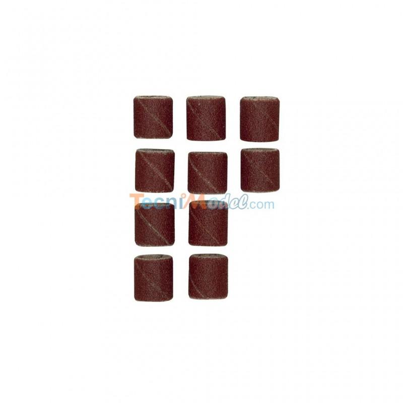 papier meri forme cylindrique 10 mm grain 150 par 10 pi ces sans tige proxxon 28981. Black Bedroom Furniture Sets. Home Design Ideas
