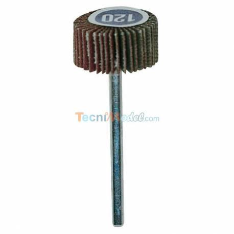 Meule à lamelles en grain normal Ø20mm grain 120 axe 3 mm PROXXN 28984