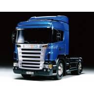 Scania R470 Highline Bleu 1/14 Tamiya RTR + MFC-03 (Prêt à rouler)