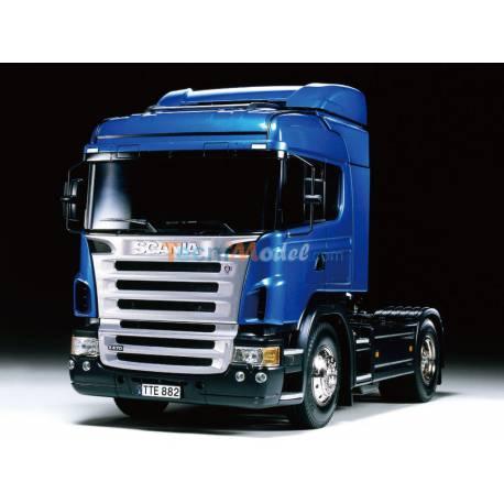 Scania R470 Highline Bleu 1/14 Tamiya RTR + MFC-03 Ref Tamiya 23648