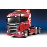 Scania R620 Highline Rouge 1/14 Tamiya RTR + MFC-03 Ref Tamiya 23670