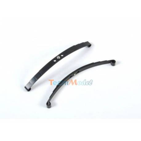 Lames de suspensions pour essieu arrière simple