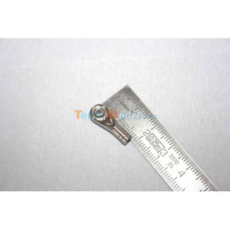1 Chape à rotule M2.5 Inox LESU M2.5-A