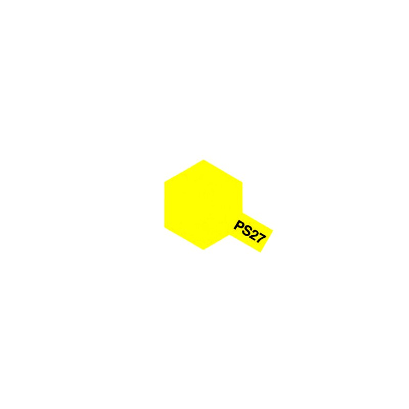 peinture pour lexan ps27 jaune fluo tamiya 86027. Black Bedroom Furniture Sets. Home Design Ideas