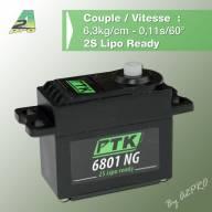 Servo Pro-Tronik Standard 6801 NG (6.3kg / 0.11s)