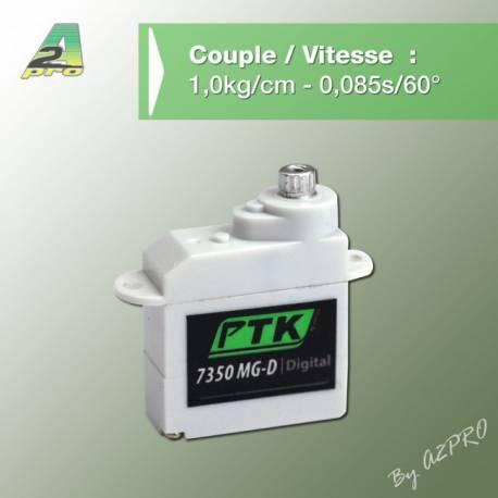 Sub Micro Servo Numérique 7350 MG-D Pro-Tronik A2PRO 77350
