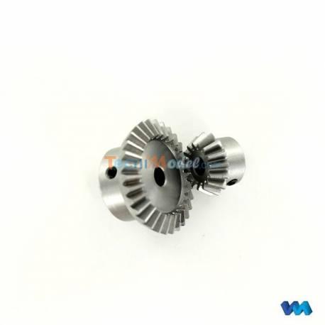 Couple conique acier 15/30 module 1 VEROMA 237266