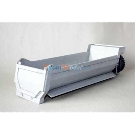 Benne ronde LESU 465mm en acier pour porteur 4 Essieux LESU LS-A0008-8x8