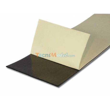 Adhésif double-face noir pour servo, épaisseur 1,5mm - 230x75mm A2PRO 7821