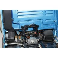 Verrou de cabine pour camion Tamiya en aluminium anodisé noir LESU G-6005-A