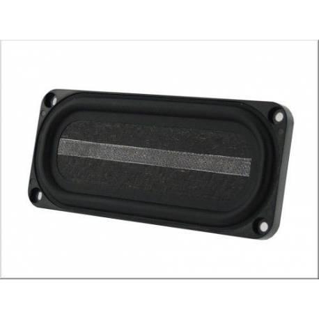 Haut-parleur miniature 8 Ohms 5 W rectangulaire 90 x 40 x 14 mm