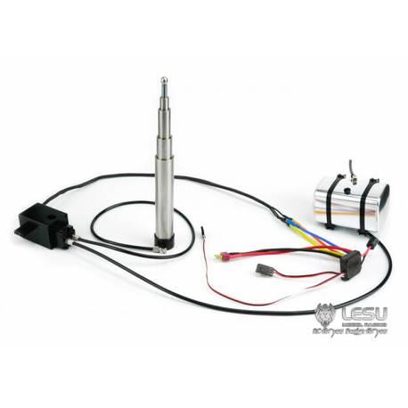 Système hydraulique avec vérin télescopique 130-495mm LESU Y-1509-A-130