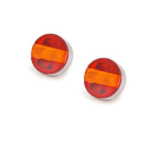 Feux arrières ronds à 3 compartiments Ref carson 500907039