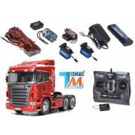 Camion Tamiya Scania R620 56323 avec ensemble électronique CARSON